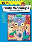 The 100+ Series(tm): Daily Warmups, Grade 4 : Math Problems and Puzzles by Carson-Dellosa Publishing Staff (2003, Paperback)