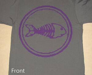 Fishbone-2013-Tour-Purple-Fish-Logo-Shirt-NEW-S-M
