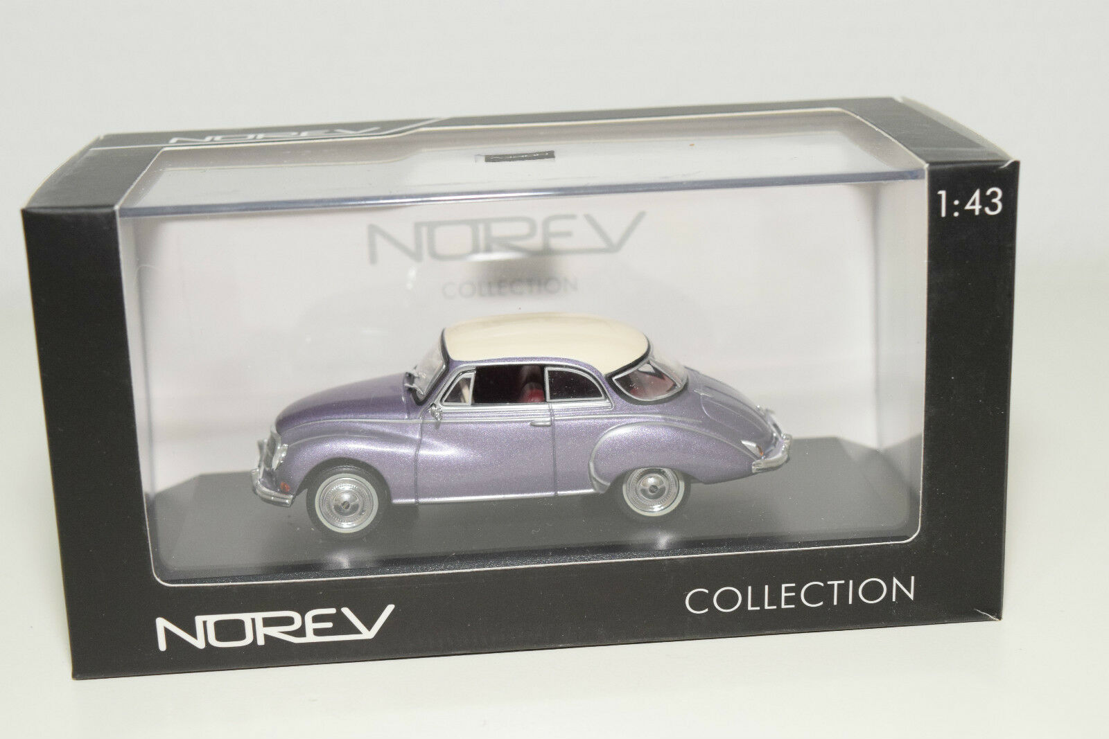 . NOREV 825001 AUTO UNION 1000S 1000 S MET. PURPLE MINT BOXED RARE SELTEN RARO