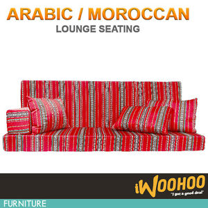 3 Seater Foam Floor Sofa Lounge Couch Bed Arabic Moroccan