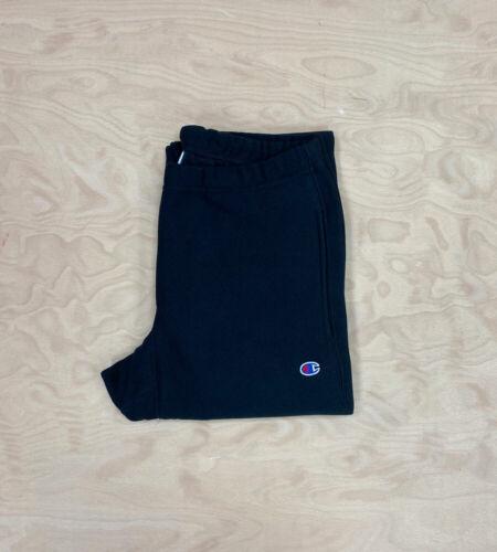 Champion REVERSE Weave Classique Poignet Sweat Pant Noir Survêtement Pantalon De Jogging