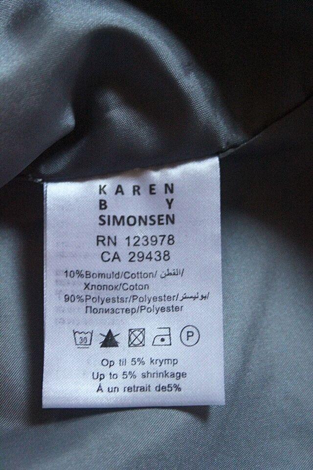 Jakke, str. 38, Karen by Simonsen
