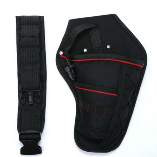 Heavy-Duty Cordless Drill Driver Holster Tool Belt Pouch Bit Holder Bags 8C