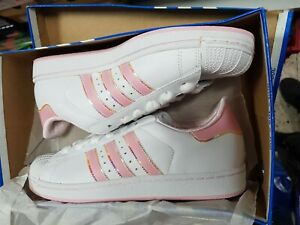 Details about Adidas SUPERSTAR 80S Womens Sneakers Shoes 912833 UK Size 7.5 EU 41 1/3