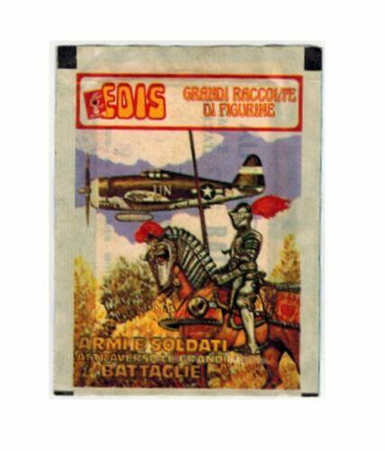 Armi e Soldati Grandi Battaglie Edis Bustina Figurine
