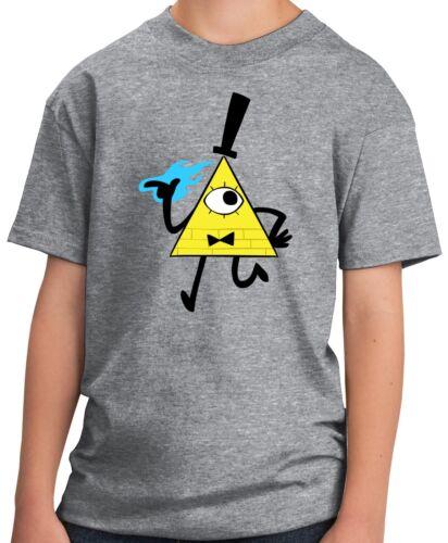 New Gravity Falls Bill Cipher Walking Youth T-Shirt