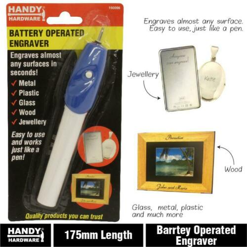 Engraver Battery Operated Jewellery Wood Glass Metal Plastic Pen Machine Tool