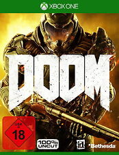 Xbox One Spiel: Doom XB-ONE D1 AT inkl. Demon Multiplayer Pack Neu & OVP