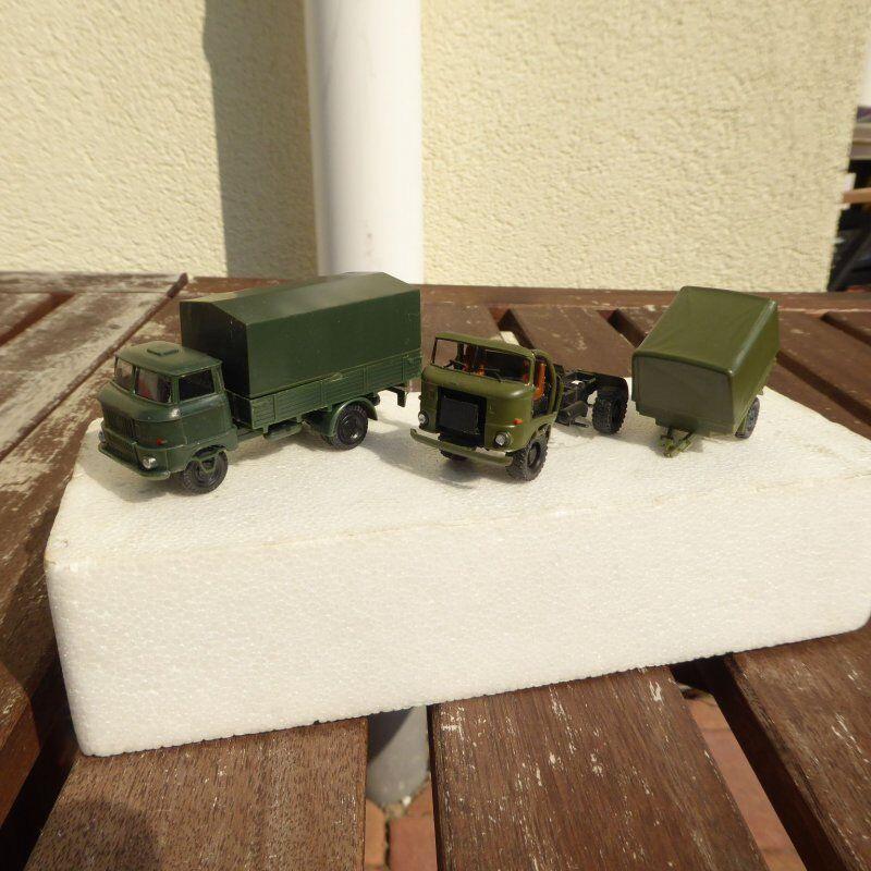 RK Modelle 2  Pièce Camion W 50 Ouverture + avec Bâche Nva   Russe Armée Su    pas cher et de la mode