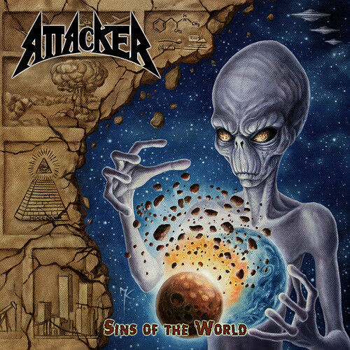 Attacker - Sins Of The World [New CD] UK - Import