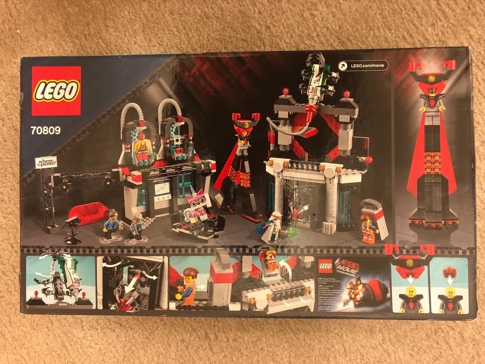 Lego 70809 Lord Business de la película Lego's Evil guarida NISB
