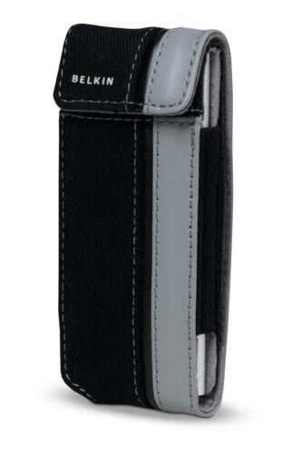 Belkin Canvas Flip Case for Ipod Nano 1G 2G 1st 2nd Gen Black//Grap F8Z129-kg