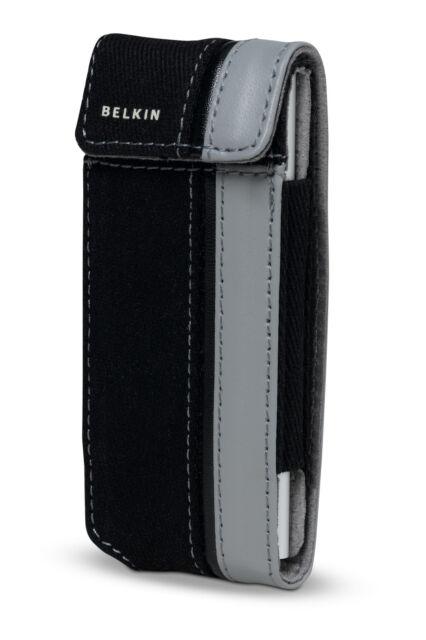 Belkin Leather Flip Case w// Clip for iPod Nano 1G 2G 1st 2nd Generation