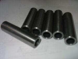 "Steel Tubing /Spacer/Sleeve 1"" OD X 1/2"" ID & 7/8"" OD X 1/2"" ID 1 Pc Each"