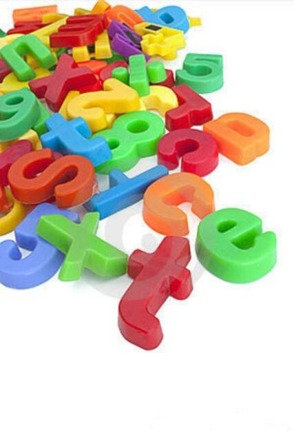 A TO Z FRIDGE MAGNETS MAGNETIC ALPHABET LETTERS BRAND NEW spelling learning aid