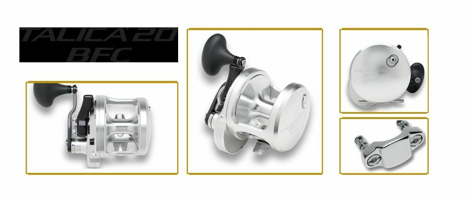 Shimano Talica BFC 20 Lever Drag Reel- -Spooling Available & Free Ship