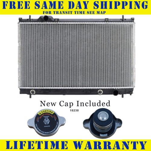 Radiator With Cap For Chry Dodge Fits Neon Sx 2.0 3 Speed Single Fan 2363WC