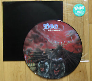 EX-EX-DIO-HEY-ANGEL-12-034-VINYL-Picture-Pic-Disc-backing-card