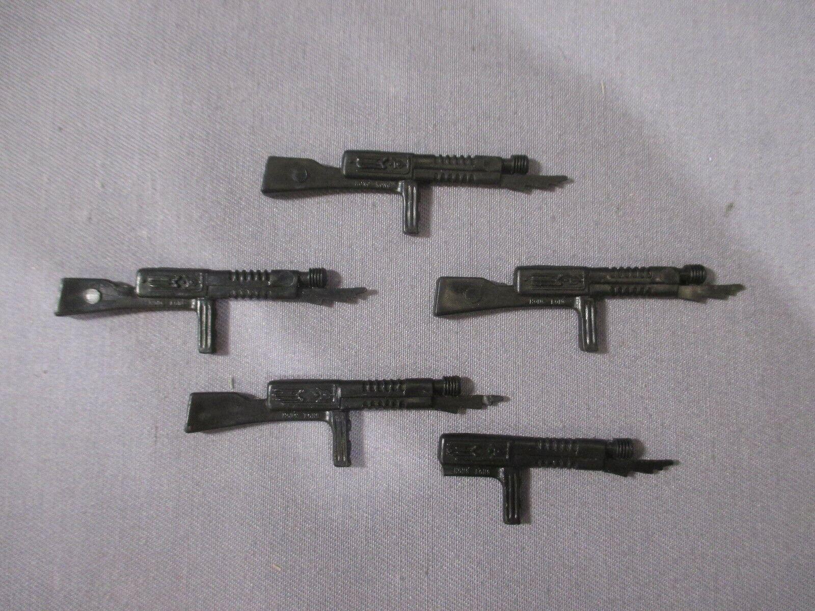 battlestar Galactica CYLON RAIDER GUN Acessory Lot of 4 Vintage 1978 Mattel