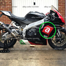 aprilia red box and a for side of a rsv4 2009 2010 2011 2012 2013 2014 2015