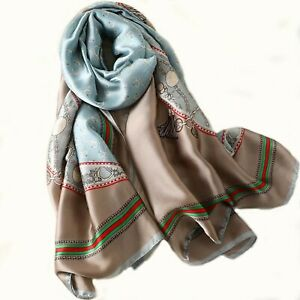 Silk-Scarf-Woman-Large-Long-Scarves-2020-designer-Shawl-wrap-print-Luxury-Brand