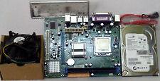 INTEL 945/G31 MOTHERBOARD+C2D2.66CPU+500 GB SATA HARD+2GB DDR2 RAM+FAN COMBO
