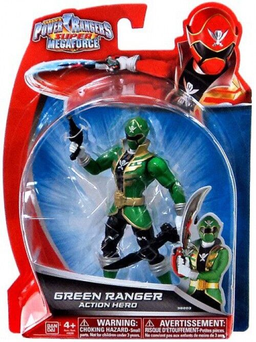 Power Rangers Super Megaforce Grün Ranger Action Hero Action Figure