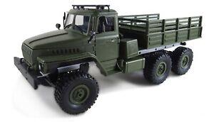 RC LKW Ural  Militär LKW 6WD RTR 1:16, grün inkl Akku + Ladegerät NEU