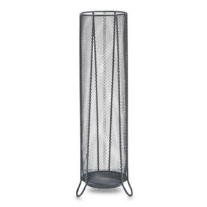 schirmst nder schwarz garderobe metall regenschirmst nder regenschirmhalter 4003368177441 ebay. Black Bedroom Furniture Sets. Home Design Ideas