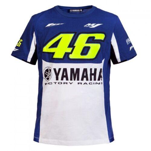 Yamaha Valentino Rossi Mens T-Shirt M-XXL The Doctor Present VR46 M1 Tee