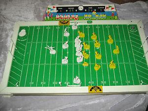 Image Is Loading Vintage Tudor Electric Football Game Timer Scoreboard Original