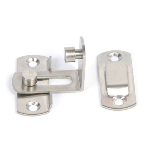 Hasp Latch Stainless Steel Lock Sliding Door lock for Window Cabinet Fitting Hot