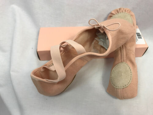 Zenith Split S0282l Neuf Rose Toile sole Ballet C 2 Bloch Taille Chaussures ZB5xwB