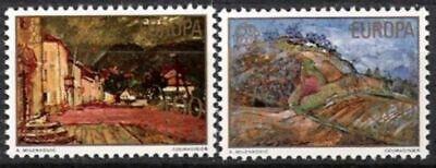 Preiswert Kaufen Jugoslawien Nr.1684/85 ** Europa Postfrisch Cept 1977
