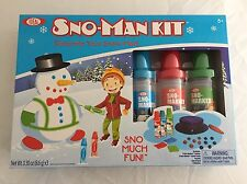 Snow-Man Kit - Decorate Your Snow Man! By Ideal NEW