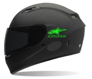 Helmet Decals Alpinestars Motorcycle Helmet Decals Sticker EBay - Motorcycle helmet decals stickers