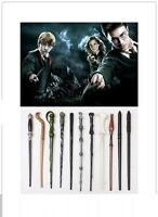 LED Harry Potter Hermione Magic Dumbledore Sirius Voldemort Wand In Gift Box NEW