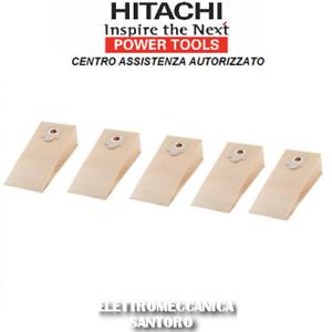 SACCO FILTRO IN CARTA 5 PZ PER ASPIRAPOLVERE WDE 1300 WDE 5000 HITACHI
