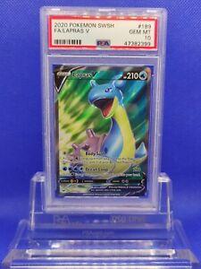 Lapras-V-Full-Art-PSA-10-GEM-MINT-2020-Sword-amp-Shield-Pokemon