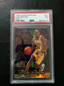 1996-Flair-Showcase-Kobe-Bryant-Row-1-Refractor-Seat-31-Psa-7-RC