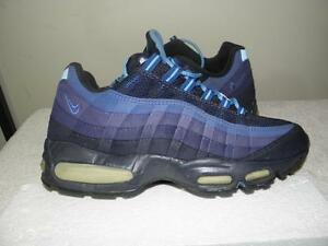 pretty nice 96578 a84d4 Details about Nike Air Max 95 '95 OG ORIGINAL big bubble s 11 VNDS 90s  obsidian navy blue RARE