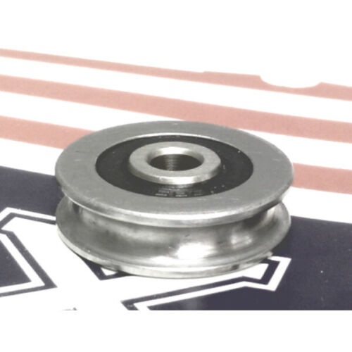 6mm Bore Bearing with 30mm 440C Stainless Steel Pulley U Groove Track Roller Bea