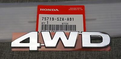 OEM Honda TOURING Nameplate Rear Trunk Badge Emblem Name for Pilot Odyssey CR-V