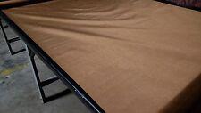 "CORDURA® CARHARTT BROWN 500D WATERPROOF OUTDOOR FABRIC 60""W COATED NYLON DWR"