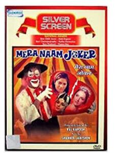 Mera Naam Joker Hindi Dvd 1970 English Subtitles Brand New
