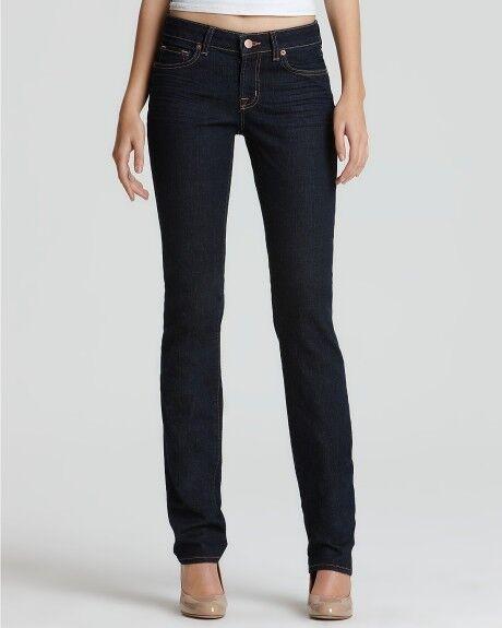 215 J BRAND Jeans Ink SCARLETT Denim BOOT Leg LOW Rise ( 24 )