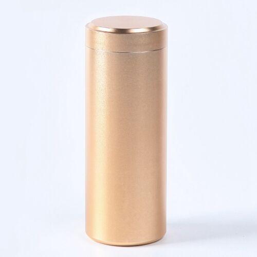 Stash Aluminum Herb Airtight Smell Proof Container Herb Stash Jar 12x4.5cm Nice