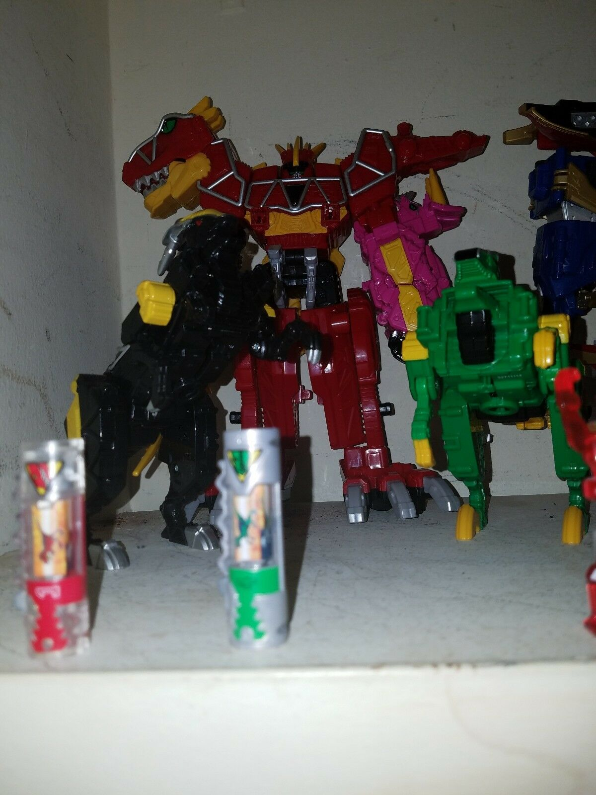 Power rangers collection all in good good good codition 135196