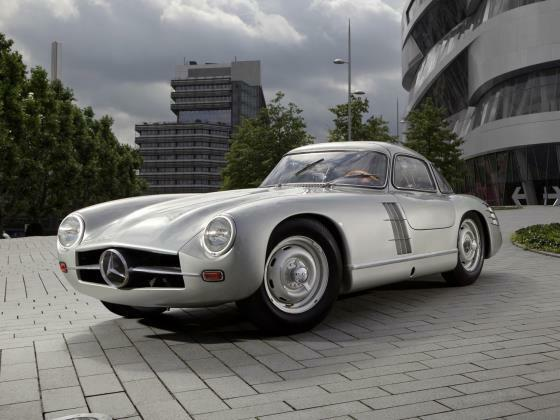 Mercedes-Benz W194 300sl Eje Transversal Coche de Modelo en 1 43 Escala Matrix