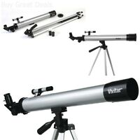 Telescope W/ Tripod Bird Stars Moon Space Watching Beginners Scope Full Kit ,new